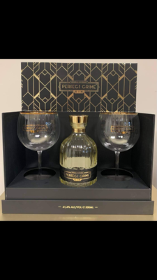 Gin Perfect Crime Luxury Gift Box with Glasses